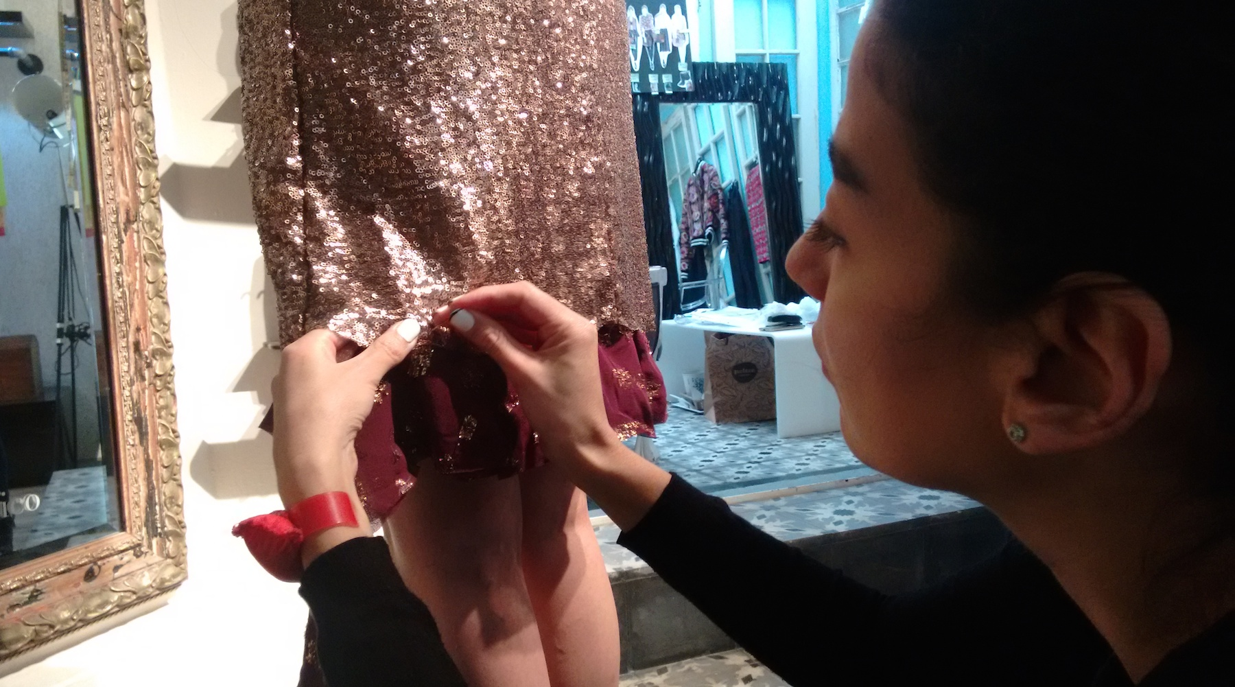 Liza Carrillo Vessel proceso creativo stitching alto diseño